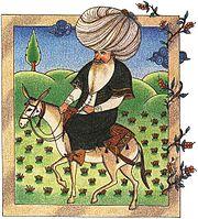 Nasreddin miniature 17e
