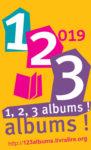 """Résultat de recherche d'images pour """"1,2,3 albums 2019 logo"""""""